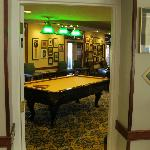  pool room in lobby area