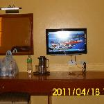 LCD Television with cable