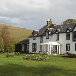  Back of the Inn  overlooking the Loch