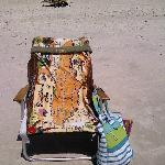 Beach chair w/name