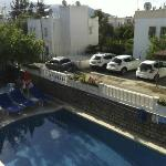Mars Otel - Swimming pool and terrace