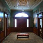 The entry way with Duncanson murals