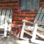 Foto di Birch Meadow Luxury Log Cabins & B&B