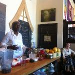 Chef Olive Mackey Food Demo WIndHorse Eustis FL