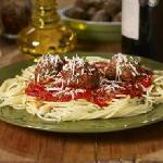 Galic Spaghetti with Meatballs