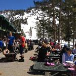 Alpine Meadows - sun deck