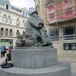 The Giles Statue