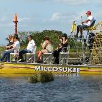 The Miccosukee airboat