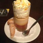 Caramel pannacotta - delicious!