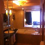  View from the bathroom to the room