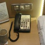  Full featured telephone. 1 touch service butttons