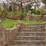 Steps to Garden at Castle of Comfort