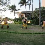  Fire Dancers at Hang Ten