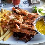 Prawns and Ribs