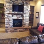  Living Room Fireplace Flat Screen TV