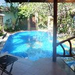 Pool at Villa Naga Maya private area of owner.