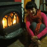  warm and cosy by the fire