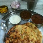 thali and lassi