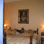 bedroom Hotel Afan de Rivera