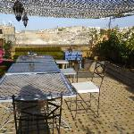 Terrace at Riad Laayoun