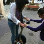 Learning to drive the Segway