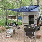 Photo of South Campground Zion National Park