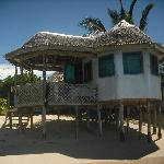 Our beach fale..enclosed option
