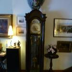 we loved the grandfather clock