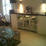 Honesty Bar in lounge