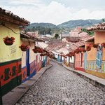 Guatape, the closest town to Piedra de Pen