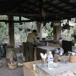  The kitchen where delicious meals were created