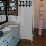  dressing area as seen from entry hall--hidden shower left of toilet