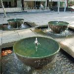 Water features in Martin Place, Sydney