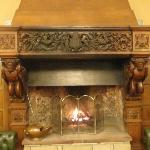  Fireplace in Main Hall