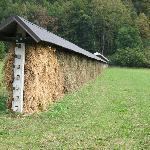 Traditional Slovenian Hay Rack