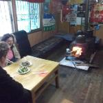 Welcome solid fuel fire & solid good food too
