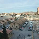 View of Alicante from bedroom.
