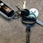  My keys to the Aventino property