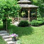  Enjoy a cup of coffee or a glass of wine in the gazebo