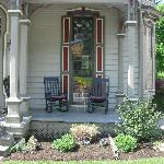  Enjoy rocking on one of the many porches
