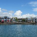 View of the Dockside from water taxi