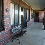 Front Verandah - designated smokers area