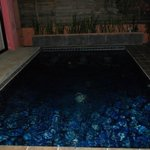  The private pool area