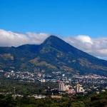  el volcan de San Salvador, donde se encuentra &quot;el Boqueron&quot;