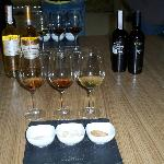 the three various wines