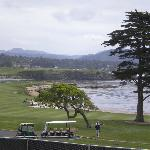  View from Lodge @ Pebble Beach outdoor seating