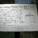 Info on water source