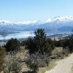 Lake Wanaka - view from top of Iron Mt