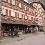 The lovely Swiss Chalet Hotel and Restaurant