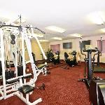 Fitness Room with Universal, Treadmill, Oliptical, Bike